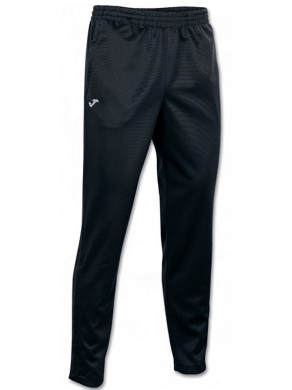 PANTALON LARGO POLY. INTERLOCK NEGRO