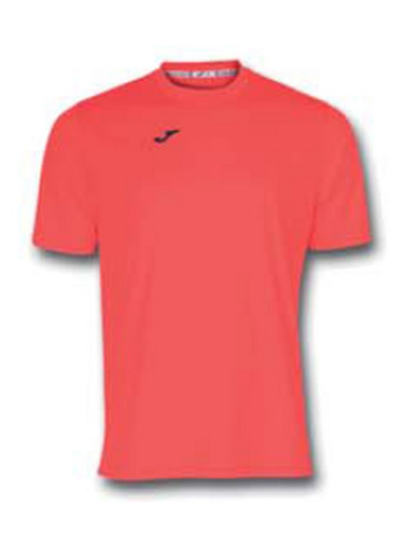 JOMA T-SHIRT COMBI S/S CORAL FLUOR