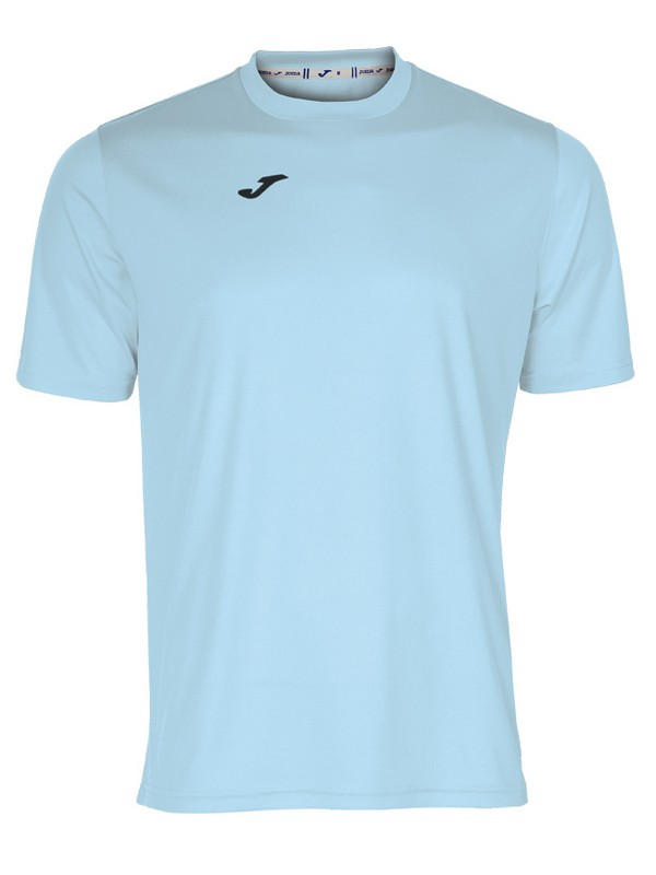 JOMA T-SHIRT COMBI S/S LIGHT BLUE