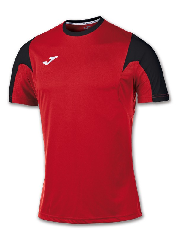 T-SHIRT ESTADIO S.S ROJO-NEGRO