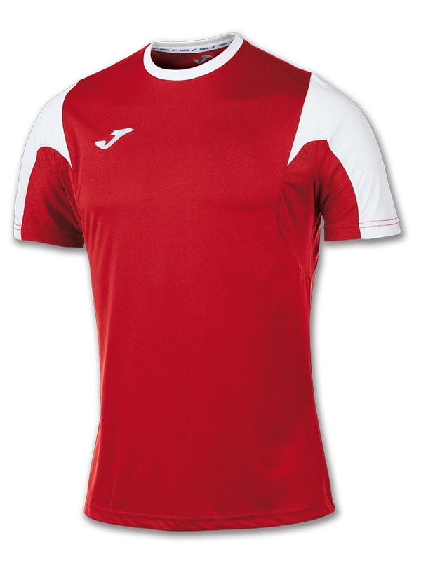 T-SHIRT ESTADIO S.S ROJO-BLANCO