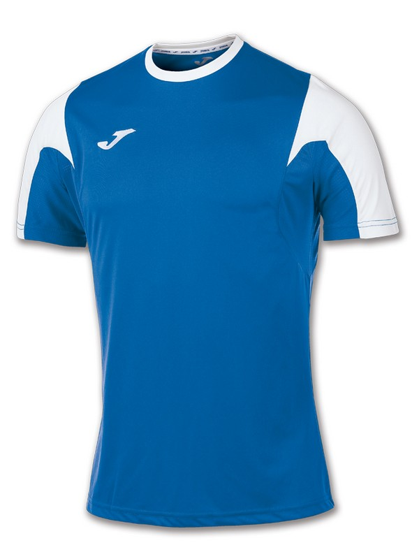 T-SHIRT ESTADIO S.S ROYAL-BLANCO