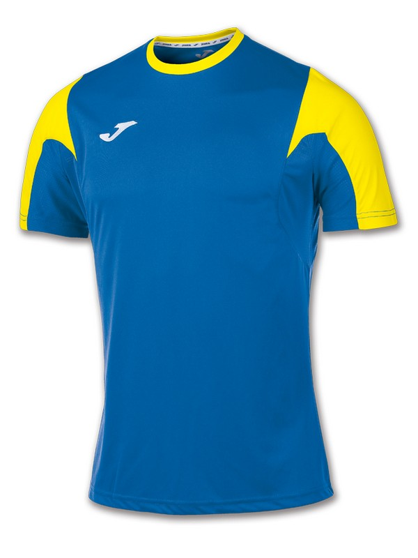 T-SHIRT ESTADIO S.S ROYAL-AMARILLO