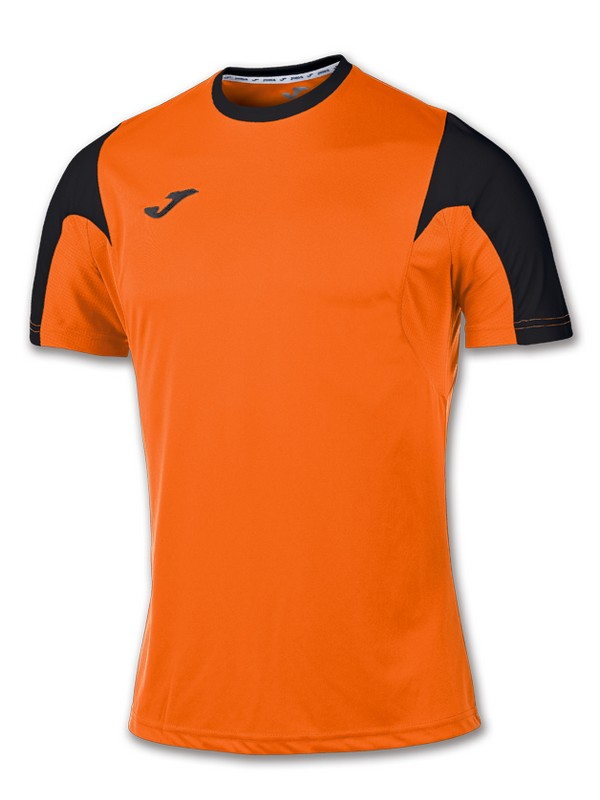 T-SHIRT ESTADIO S.S NARANJA-NEGRO