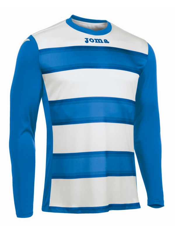 CAMISETA EUROPA III M/L ROYAL-BLANCO