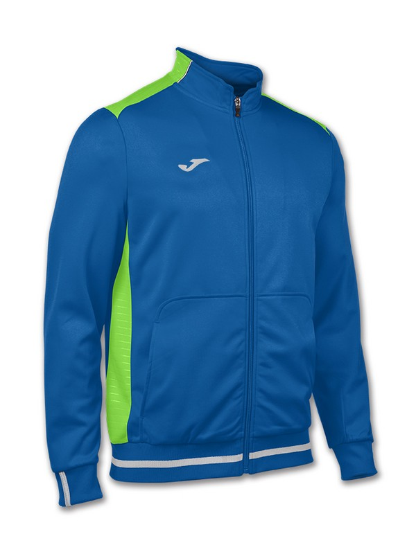 JOMA JACKET CAMPUS II ROYAL-VERDE FLÚOR