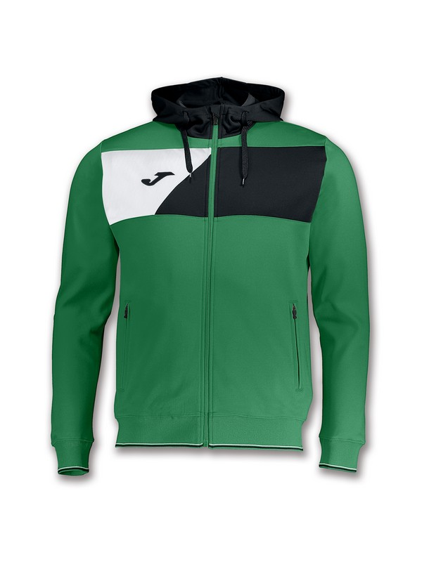 JOMA CHAQUETA CREW HOODED GREEN