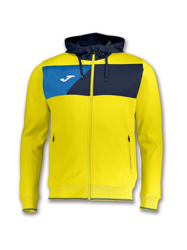 JOMA CHAQUETA CREW HOODED YELLOW