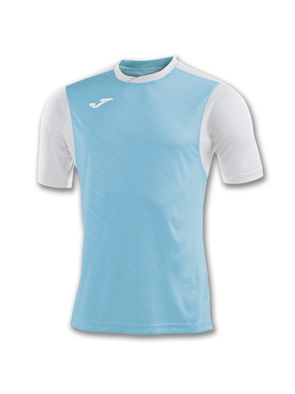 JOMA T-SHIRT TORNEO II S/S WHITE-TURQUOISE