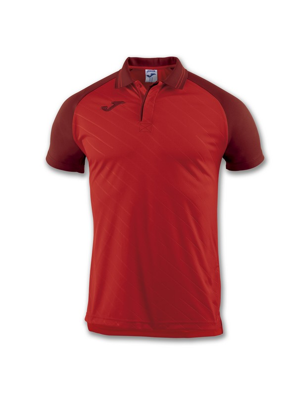 JOMA POLO TORNEO II S/S RED