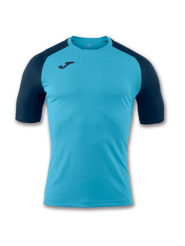 JOMA T-SHIRT EMOTION TURQUOISE FLUOR/BLACK