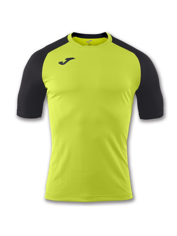 JOMA CAMISETA EMOTION LIME PUNCH/BLACK