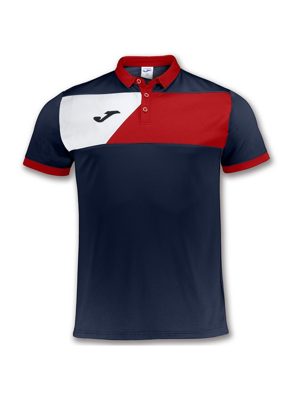 JOMA POLO CREW II NAVY-RED