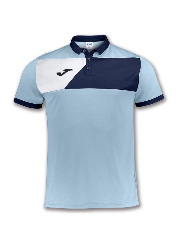 JOMA POLO CREW II LIGHT BLUE