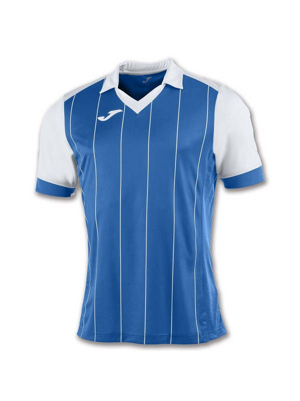 JOMA CAMISETA GRADA M/C ROYAL-BLANCO