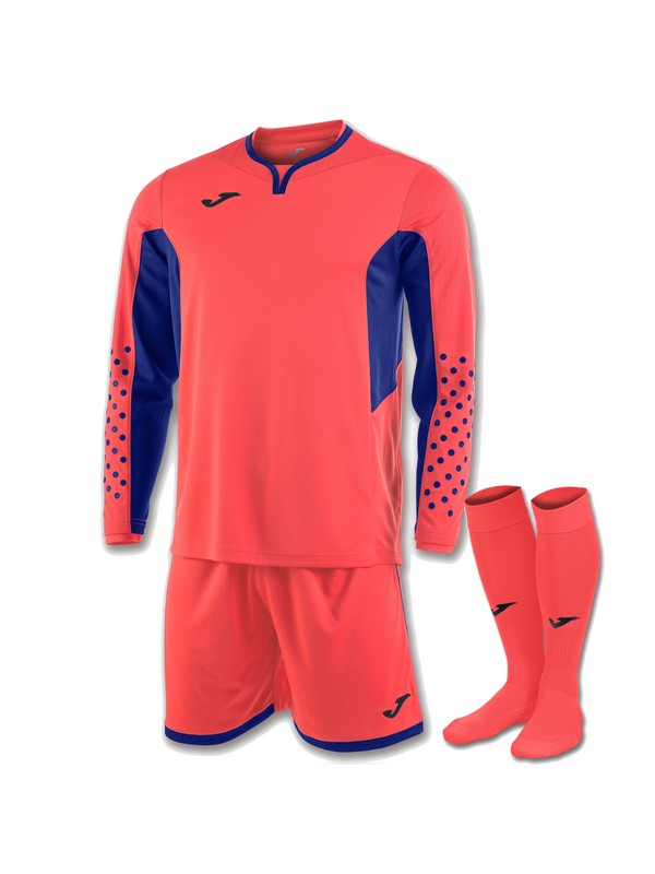 JOMA SET GOALKEEPER  L/S CORAL FLUOR