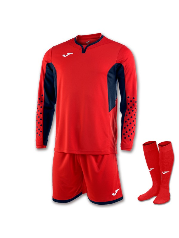 JOMA SET GOALKEEPER  L/S RED