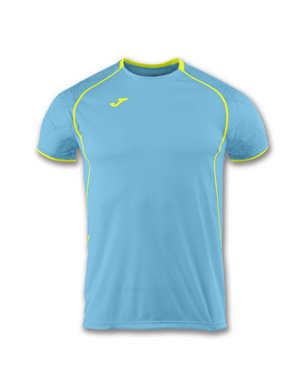 JOMA T-SHIRT RECORD II S/S TURQUOISE-YELLOW
