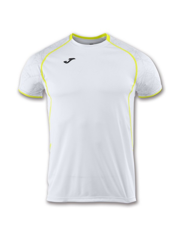 JOMA CAMISETA M/C RECORD II WHITE-YELLOW