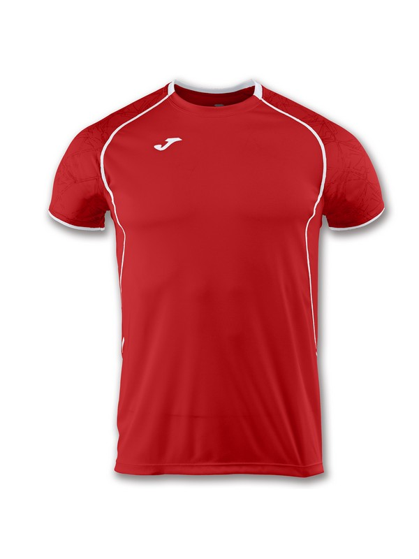 JOMA CAMISETA M/C RECORD II RED-WHITE