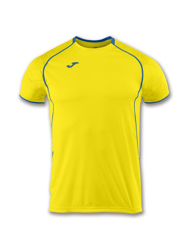 JOMA CAMISETA M/C RECORD II YELLOW-ROYAL