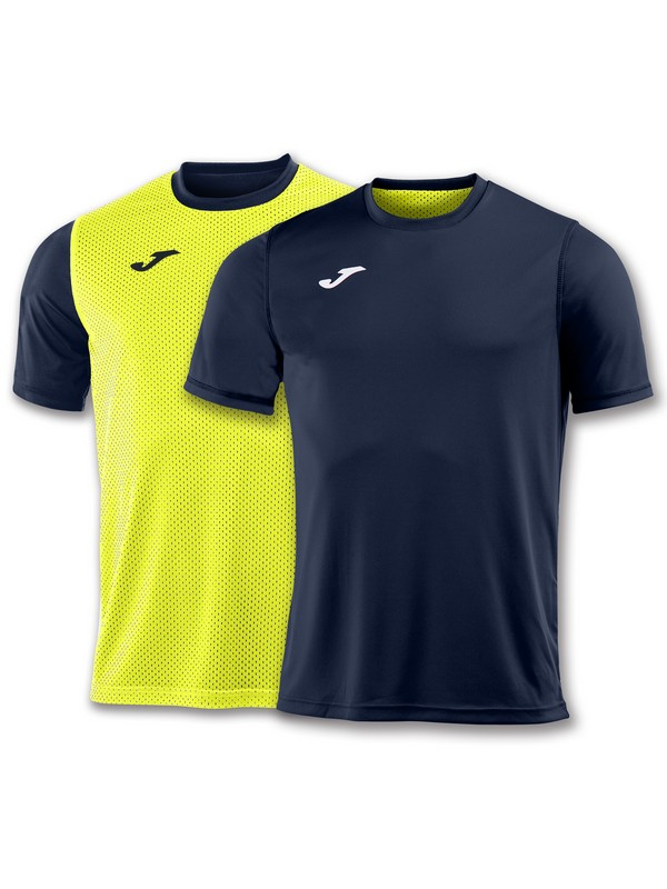 JOMA CAMISETA COMBI REVERSIBLE M/C NAVY-YELLOW