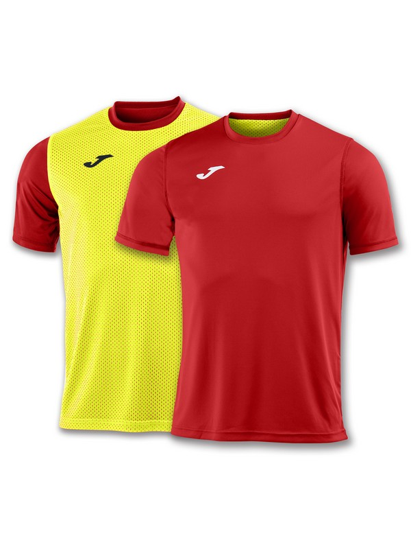 JOMA CAMISETA COMBI REVERSIBLE M/C RED-YELLOW