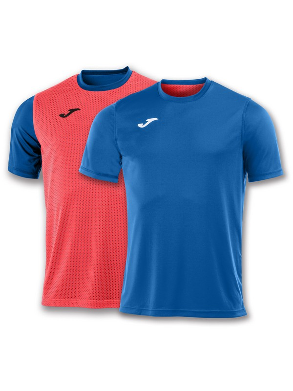 JOMA CAMISETA COMBI REVERSIBLE M/C ROYAL-ORANGE