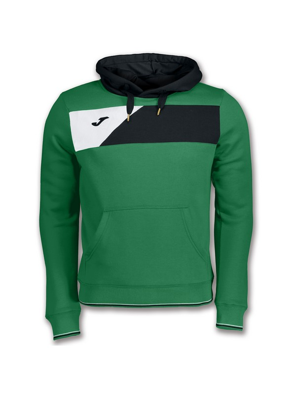 JOMA SWEATSHIRT CREW II HOODED GREEN