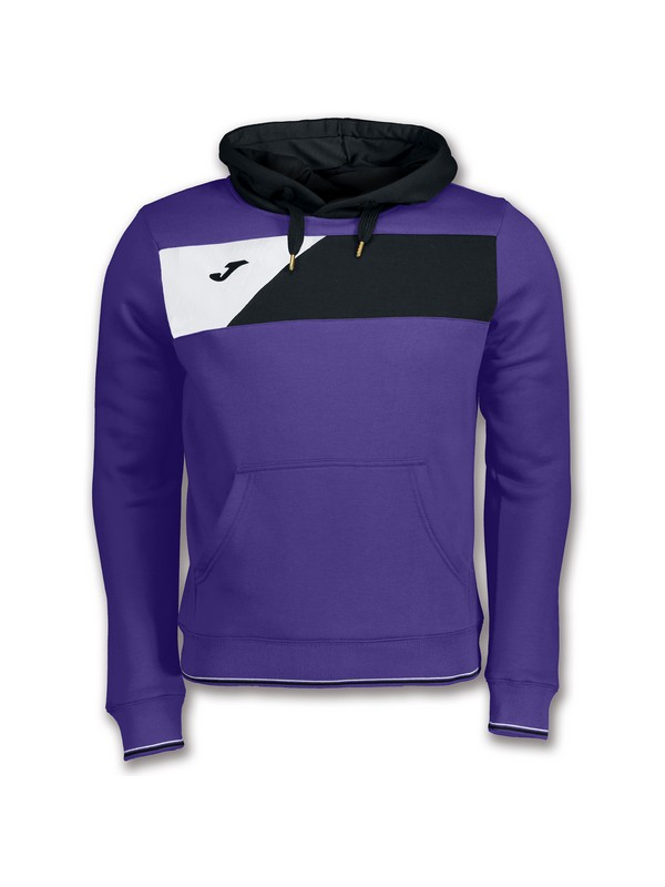 JOMA SWEATSHIRT CREW II HOODED PURPLE