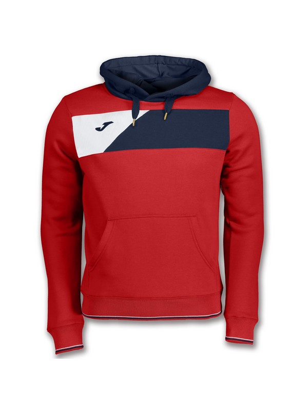 JOMA SWEATSHIRT CREW II HOODED RED