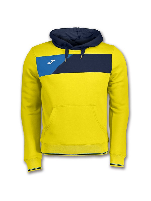 JOMA SWEATSHIRT CREW II HOODED YELLOW