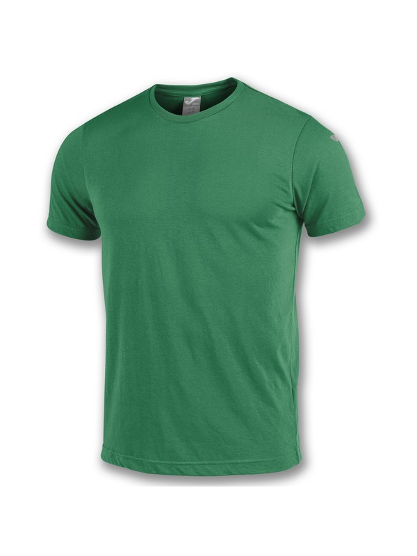 TSHIRT COMBI COTTON S/S GREEN