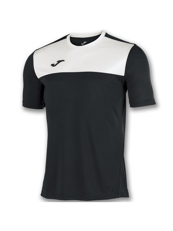 JOMA CAMISETA M/C WINNER BLACK-WHITE