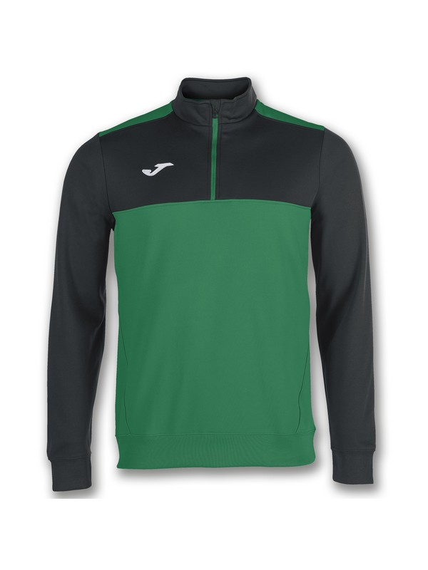 JOMA SUDADERA 1/2 CREM. WINNER GREEEN-BLACK