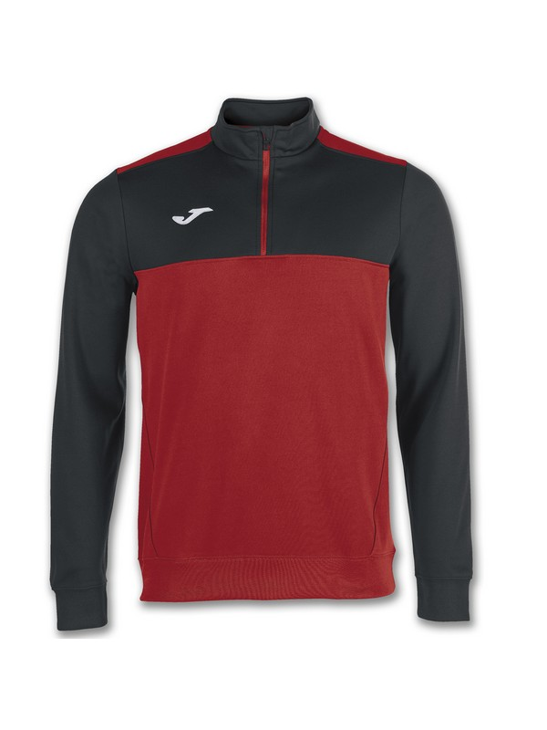 JOMA SUDADERA 1/2 CREM. WINNER RED-BLACK