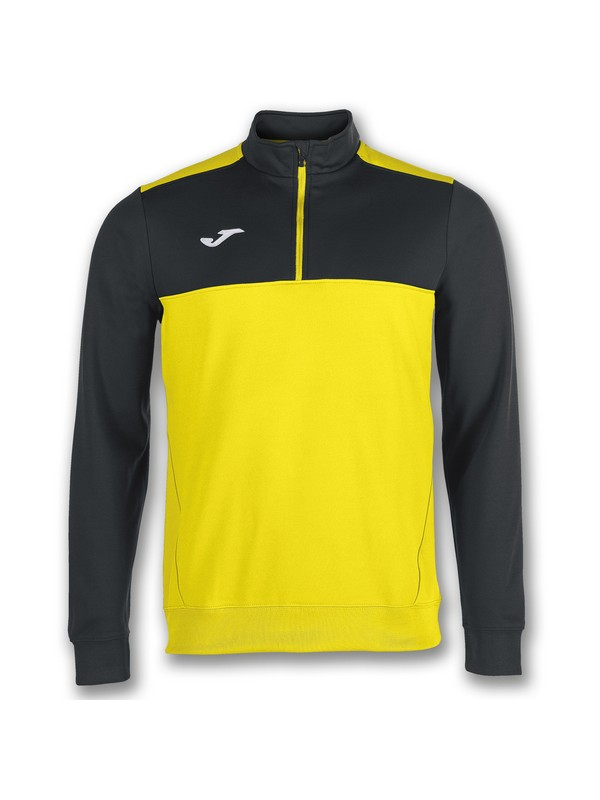 JOMA SUDADERA 1/2 CREM. WINNER YELLOW-BLACK