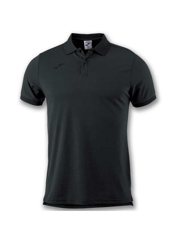 JOMA POLO ESSENTIAL S/S BLACK