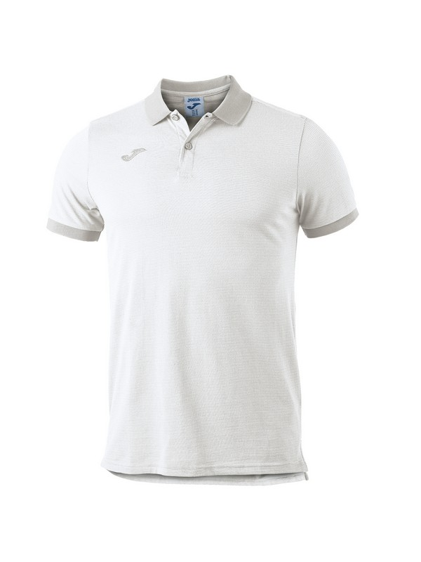 JOMA POLO ESSENTIAL S/S WHITE