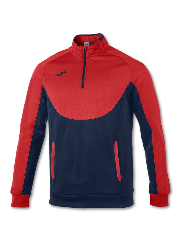 JOMA SWEATSHIRT ESSENTIA L 1/2 ZIPPER ROYAL-NAVY