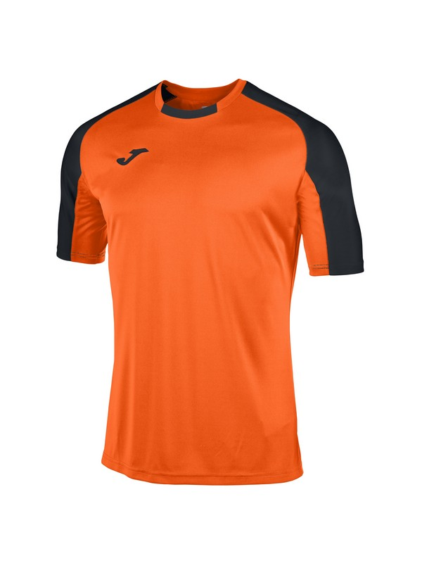 JOMA CAMISETA M/C ESSENTIAL ORANGE-BLACK