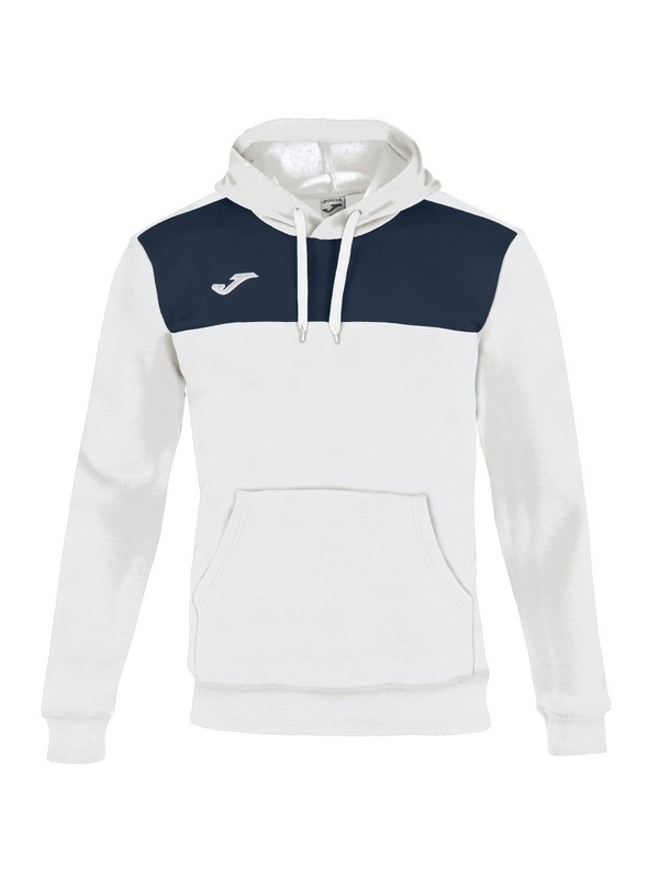 SUDADERA WINNER COTTON NAVY-WHITE