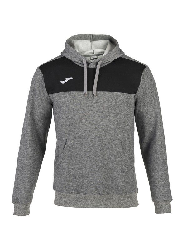 SUDADERA WINNER COTTON GRIS MELANGE MEDIO