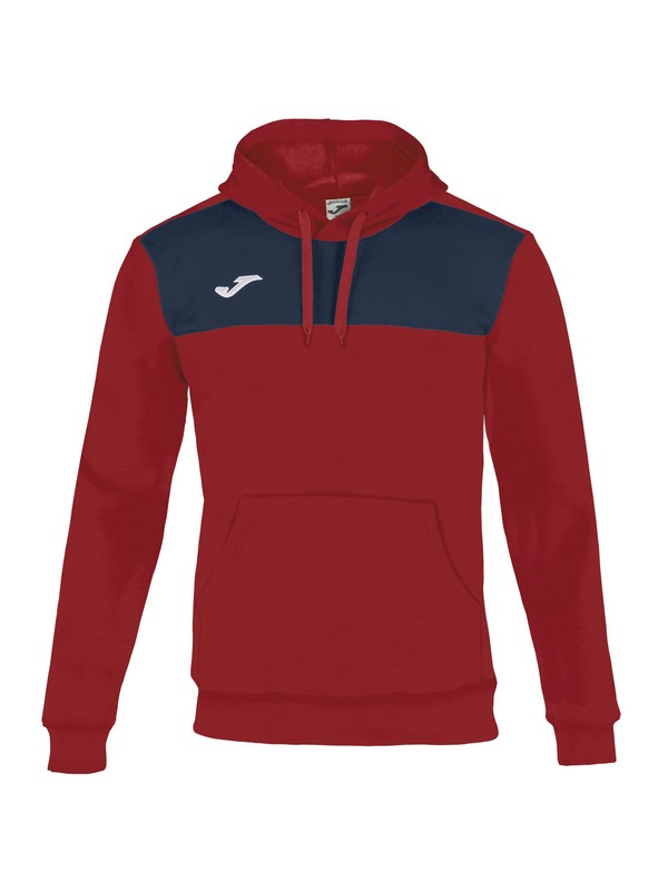 SUDADERA WINNER COTTON RED-NAVY