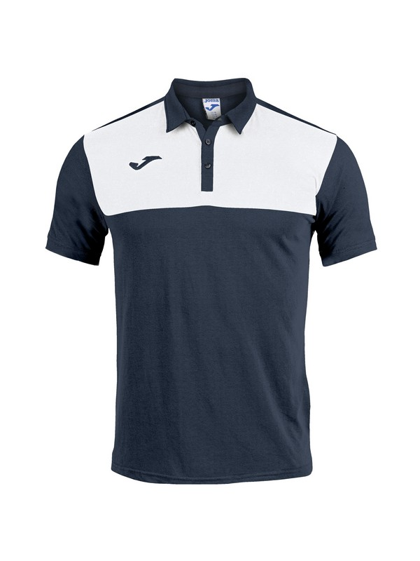 POLO SHIRT WINNER COTTON S/S NAVY-WHITE