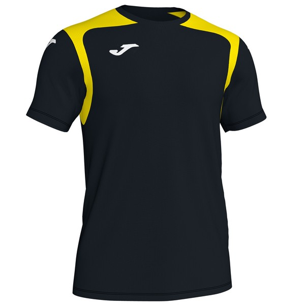 JOMA CAMISETA CHAMPION V BLACK-YELLOW