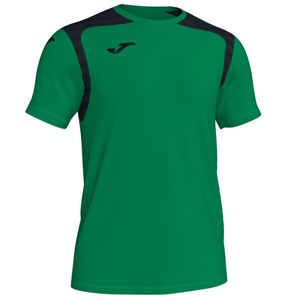 JOMA CAMISETA CHAMPION V GREEEN-BLACK