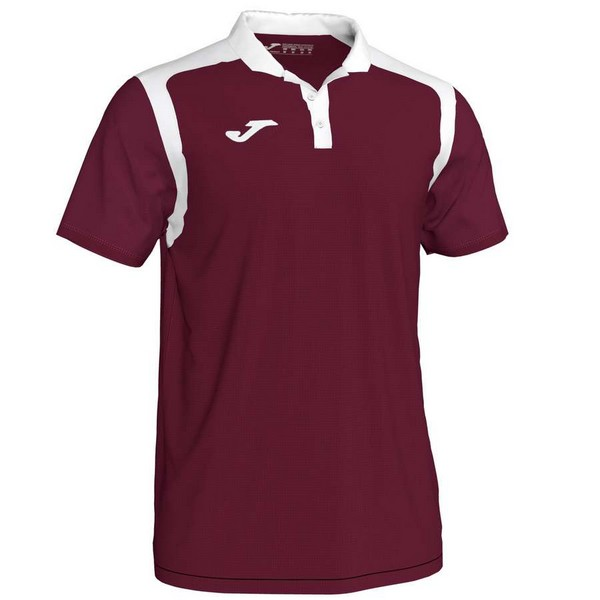 POLO CHAMPION V BURGUNDY