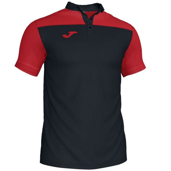 POLO HOBBY II BLACK-RED