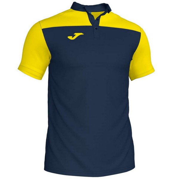 POLO HOBBY II NAVY-YELLOW